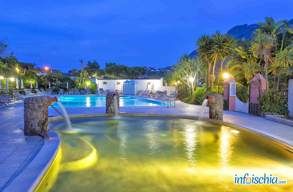 Hotel Eden Park Forio d'Ischia - Le piscine esterne