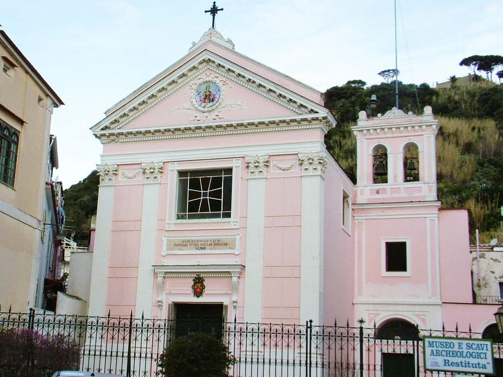 chiesa di santa restituta lacco ameno-isola-d-ischia