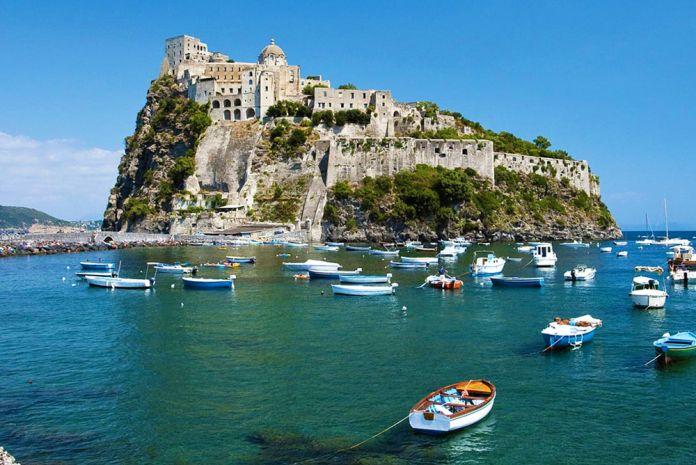 castello aragonese da ischia ponte