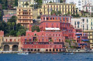 Napoli Ischia dal Mare