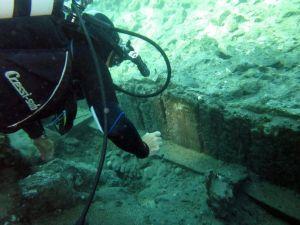 Ischia, rovine romane nella baia di Cartaromana