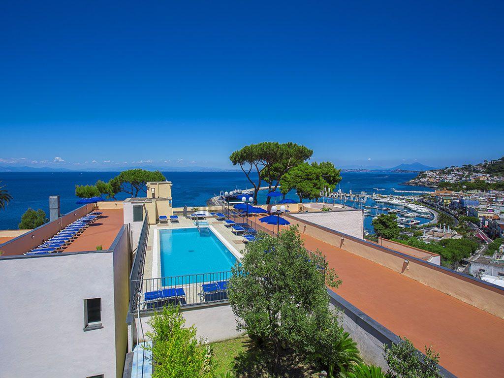cristallo palace hotel 4 stelle casamicciola terme-ischia