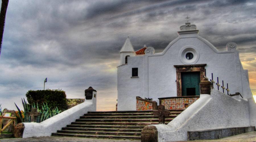 Inverno a Ischia - Chiesa del Soccorso
