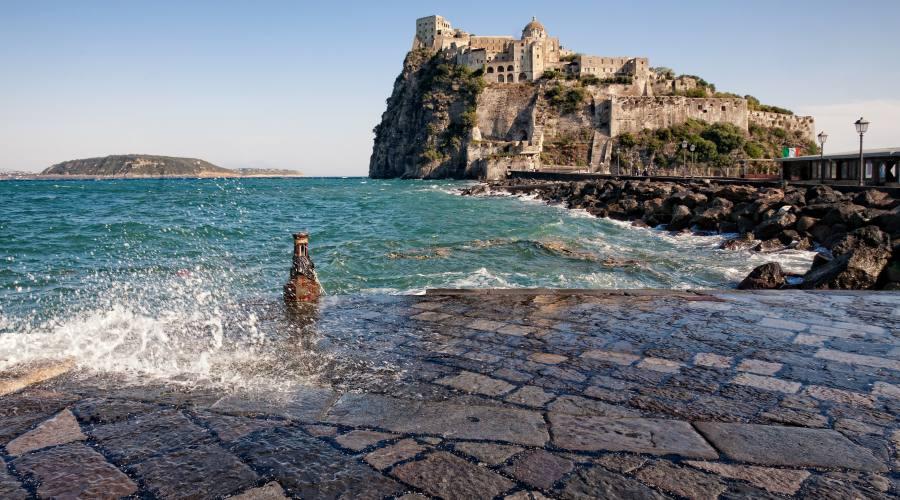 Inverno a Ischia - Castello Aragonese