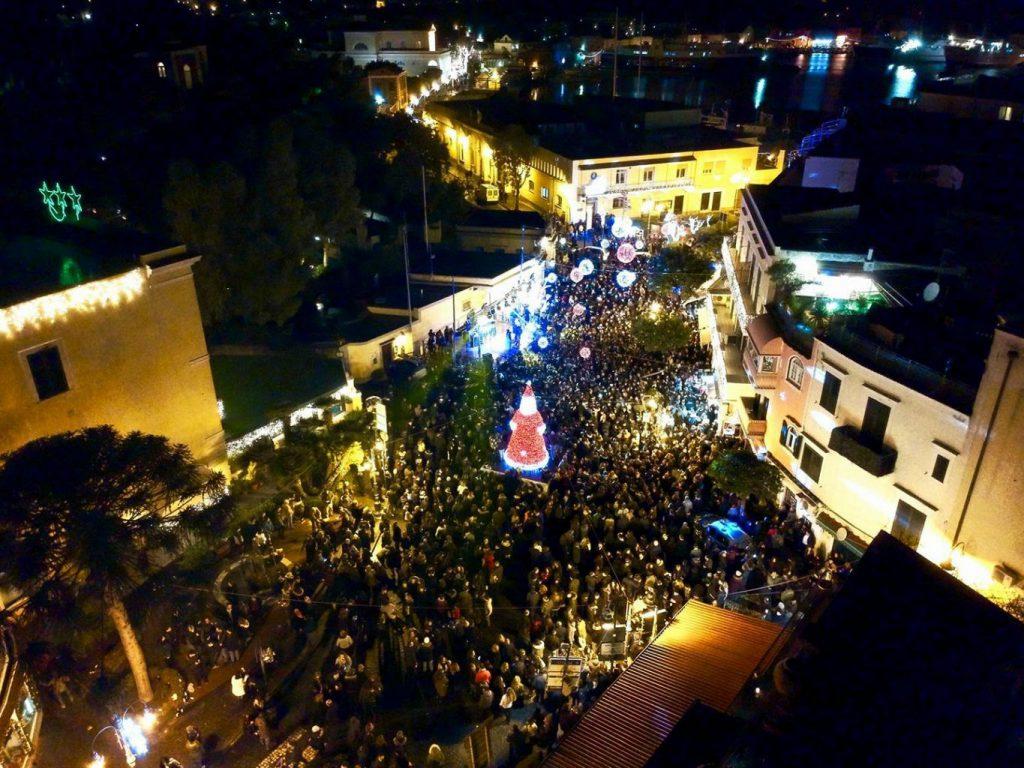 Capodanno Ischia Piazza Antica Reggia
