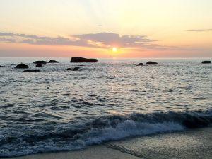 Marzo a Ischia - Passeggiata in spiaggia