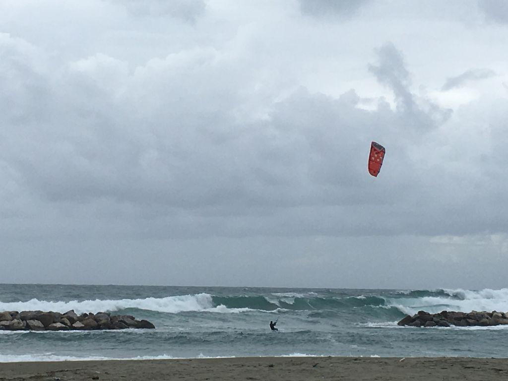 Kite Surf Ischia Mare di Ischia in inverno