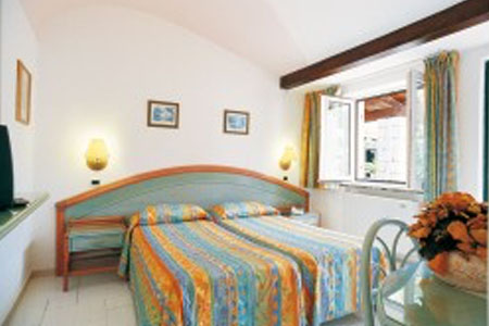 Camere Hotel Carlo Magno - Hotel 4 Stelle Ischia - Info Ischia