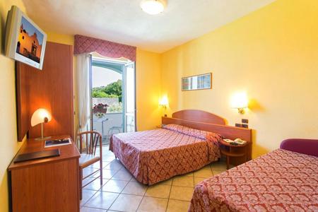 Camere Hotel Parco Dei Principi Ischia - Hotel 4 Stelle Ischia