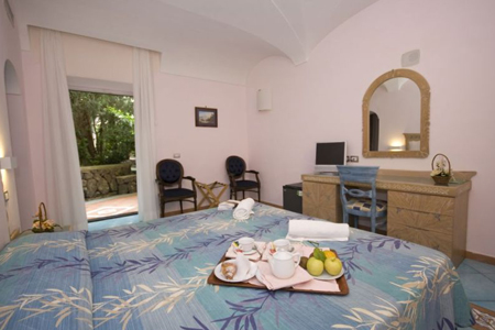 Camere Hotel Parco Verde Terme - Hotel 4 Stelle Ischia - Info Ischia