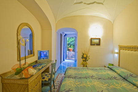 Camere Hotel Parco Verde Terme - Hotel 4 Stelle Ischia