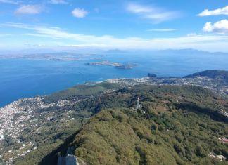 Vista dal Monte Epomeo sul Cretaio e Ischia Porto