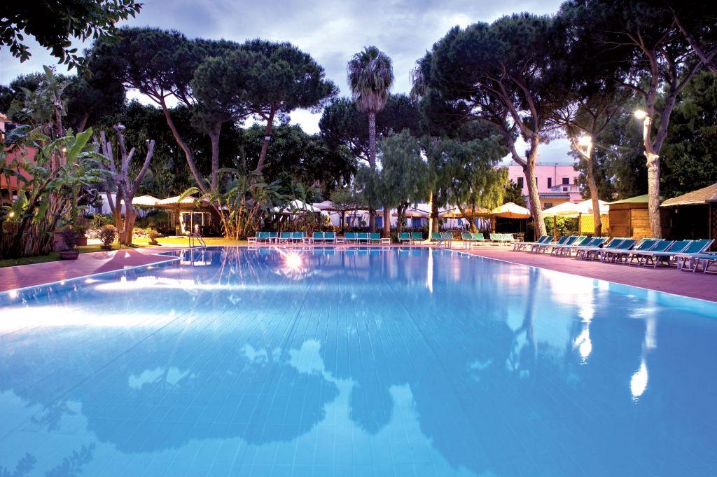 Piscine Grand Hotel Re Ferdinando - Hotel 4 Stelle Ischia - Info Ischia