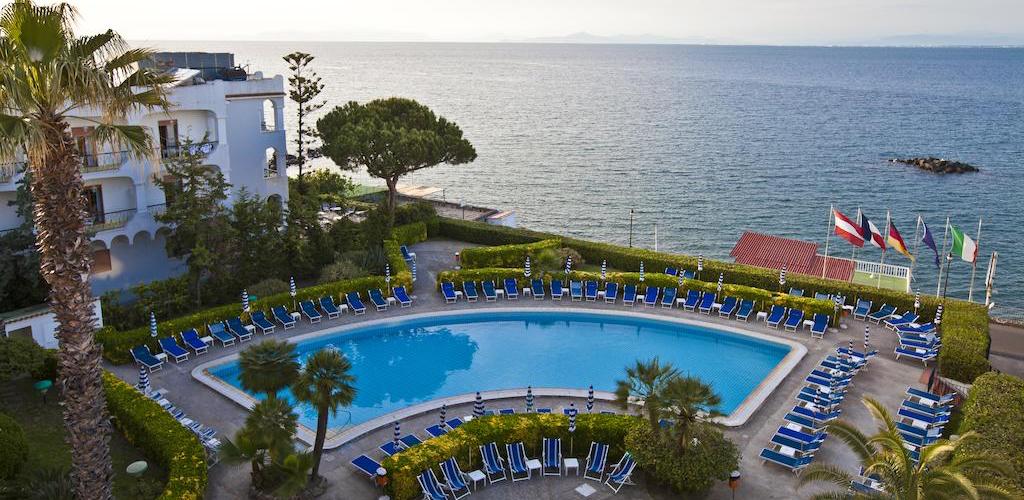 Piscine Hotel Terme Alexander - Hotel 4 Stelle Ischia -Info Ischia
