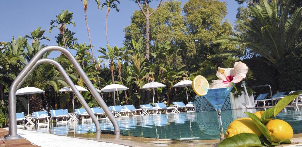 Piscine Hotel Terme Central Park - Hotel 4 Stelle Ischia .- Info ischia