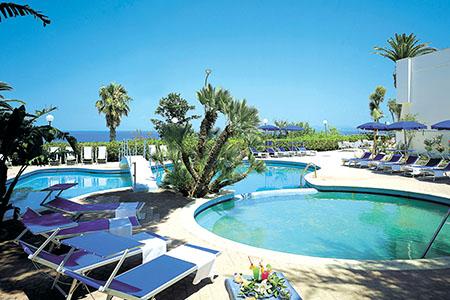 Piscine esterne Hotel Cristallo Palace De Charme Hotel 4 Stelle Ischia - Info Ischia