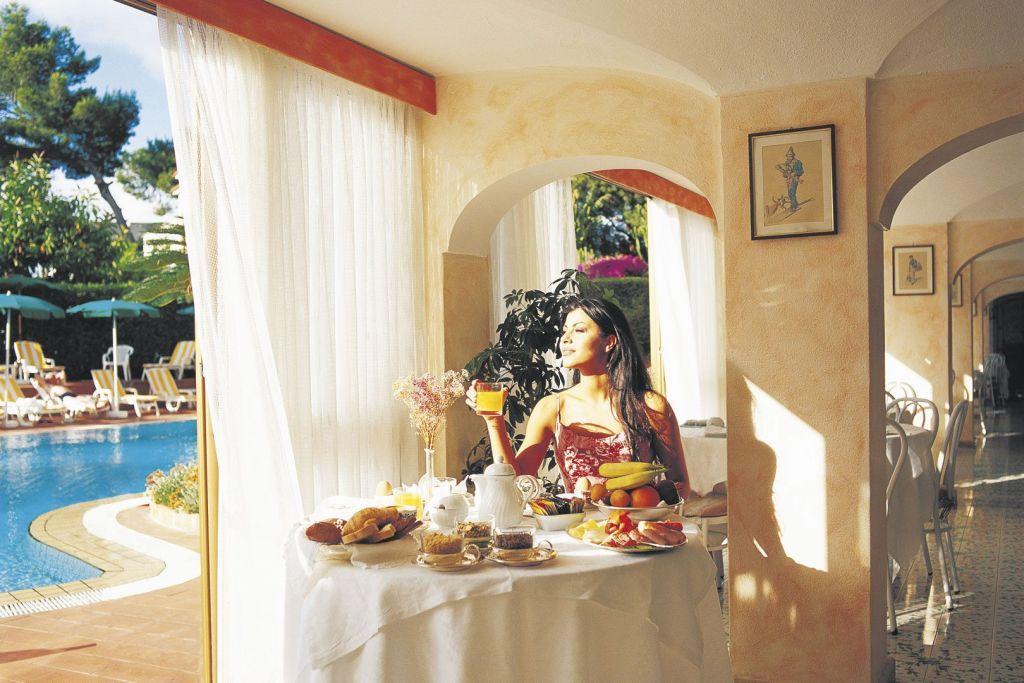 Ristorante Grand Hotel Terme di Augusto - Hotel 5 Stelle Ischia - Info Ischia