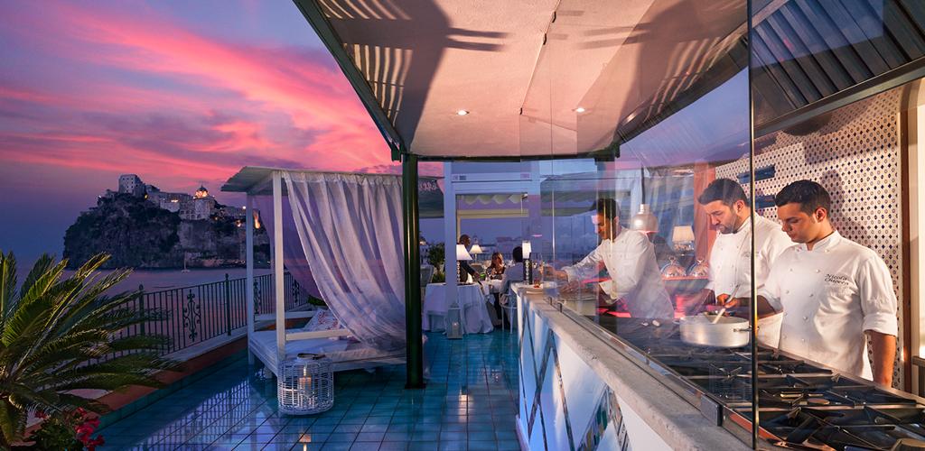 Ristorante Hotel Miramare e Castello - Hotel 5 Stelle Ischia - Info Ischia