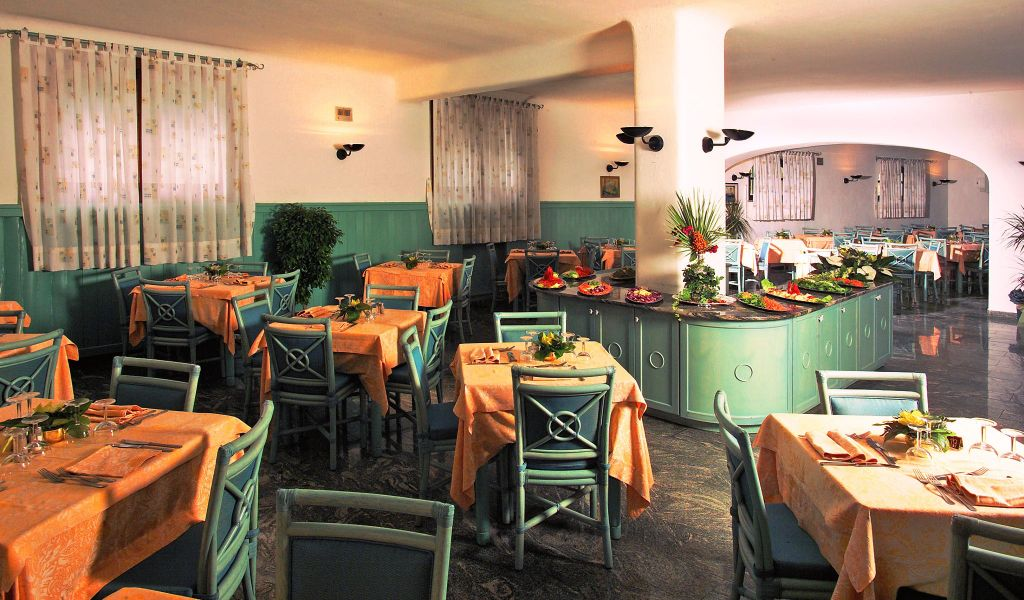 Ristorante - Hotel Parco San Marco - Hotel 4 Stelle ischia