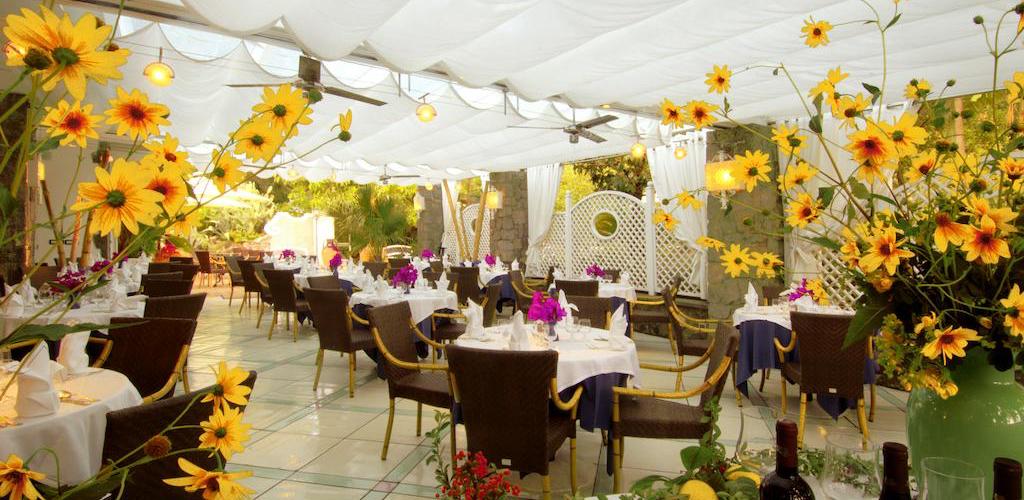 Ristorante Hotel Terme Central Park - Hotel 4 Stelle Ischia .- Info ischia