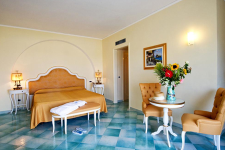 Camere Hotel Hermitage e Park Terme Ischia - Hotel 4 Stelle Ischia - Info Ischia