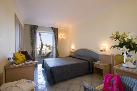 Camere Hotel Hermitage e Park Terme Ischia - Hotel 4 Stelle Ischia - InfoIschia