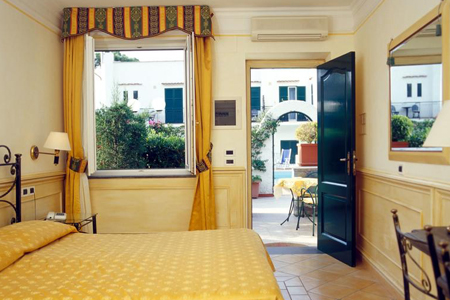 Camere Hotel Lord Byron Ischia - Hotel 3 Stelle Ischia -InfoIschia