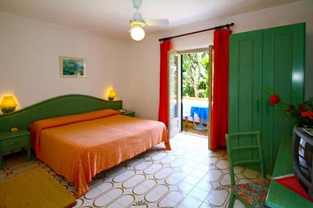 Camere Park Hotel Calitto Ischia - Hotel 3 Stelle Ischia - Info Ischia