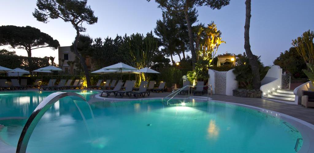 Piscine Hotel Hermitage e Park Terme Ischia - Hotel 4 Stelle Ischia - Info Ischia