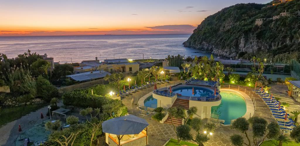 Piscine Hotel Zaro Ischia - Hotel 4 Stelle Ischia- InfoIschia
