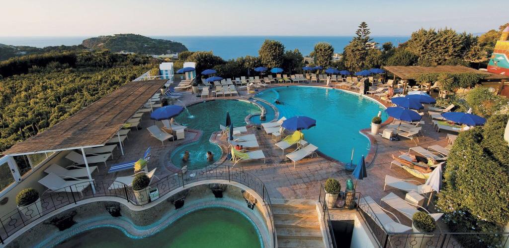 Piscine Park Hotel Michelangelo Ischia - Hotel 4 Stelle Ischia- InfoIschia