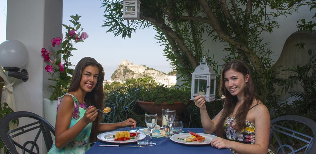 Ristorante Hotel Hermitage e Park Terme Ischia - Hotel 4 Stelle Ischia - Info Ischia