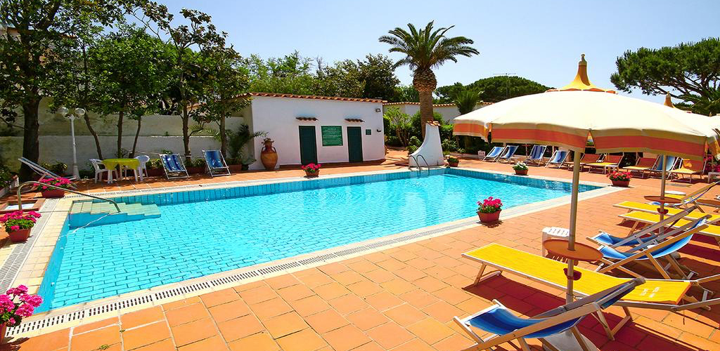 piscine Park Hotel Calitto Ischia - Hotel 3 Stelle Ischia - Info Ischia