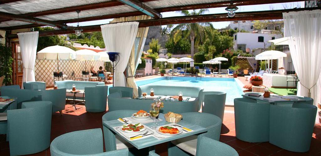 ristorante Hotel Lord Byron Ischia - Hotel 3 Stelle Ischia - Info Ischia