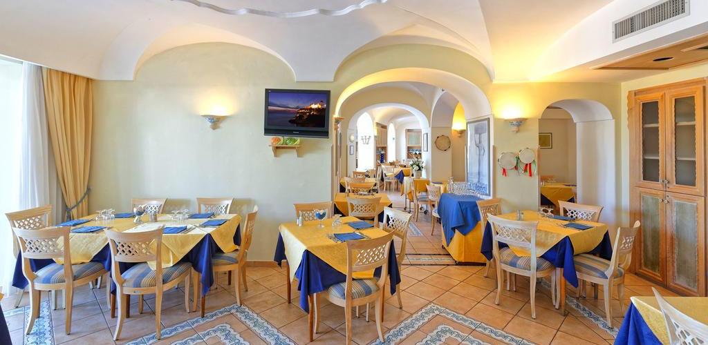 Hotel Punta Imperatore - Hotel 4 Stelle Ischia - Ristorante - Info Ischia