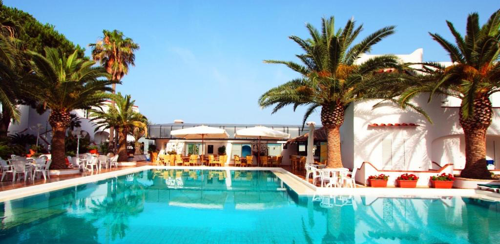 Piscine Hotel Royal Palm - Hotel 4 Stelle Ischia - InfoIschia