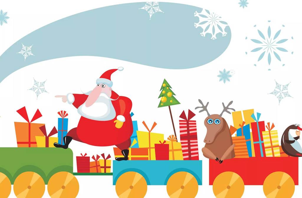 Trenino Babbo Natale