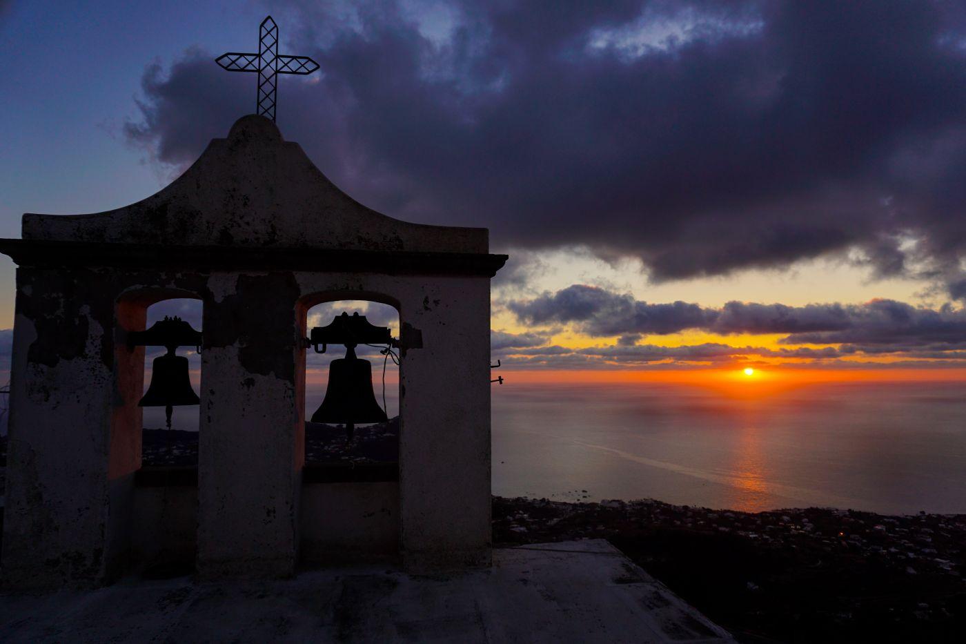 Tramonto da Santa Maria al Monte Forio d'Ischia