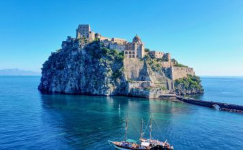 Ischia, il castello Aragonese ad Ottobre