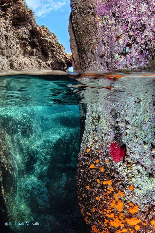 Il mare di Sant'Angelo Che incanto