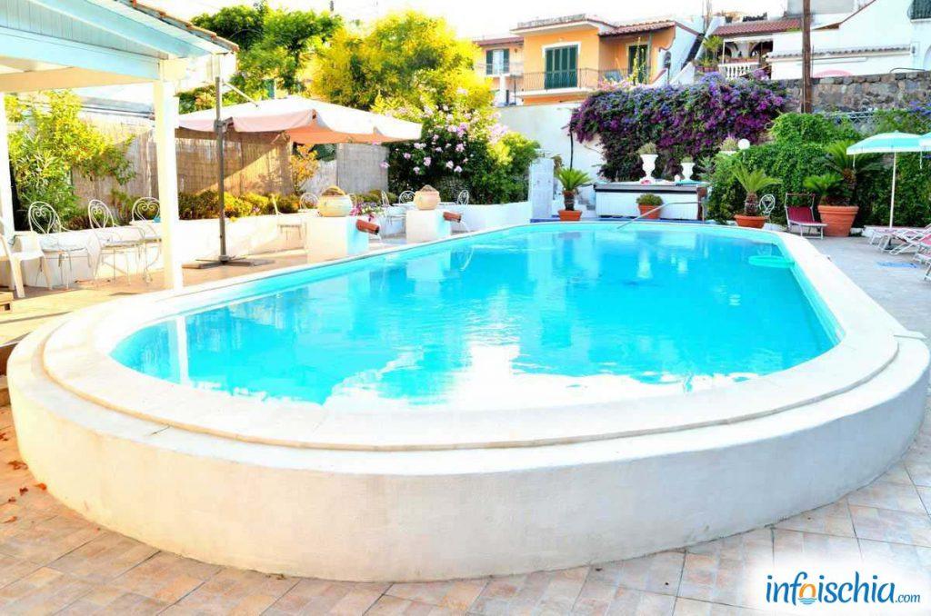 Hotel Stella Maris, la piscina
