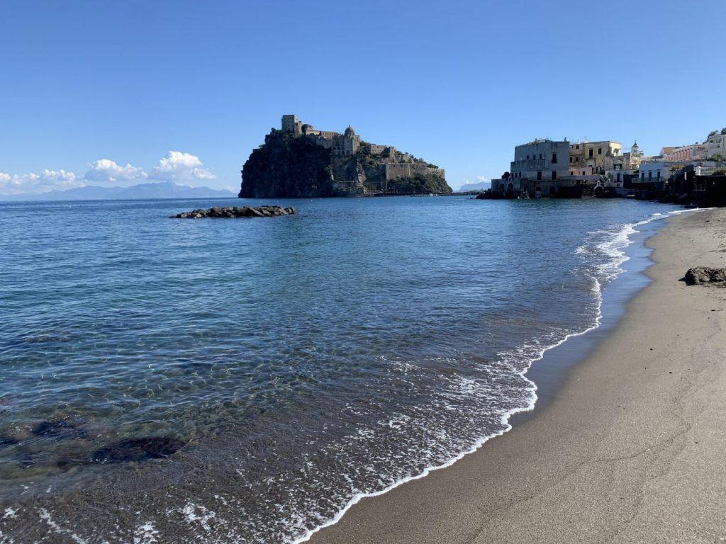 Ischia. il castello Aragonese Ottobre 2020
